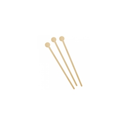 Stirrer long drink in legno naturale cm 15