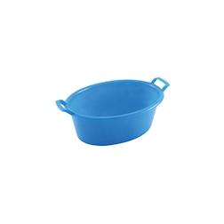 Bacinella ovale in abs blu cm 20x14,5