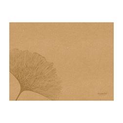 Tovaglietta Organic Duni in carta marrone cm 30x40