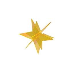 Stella 3D Cazador del Sol gialla cm 20