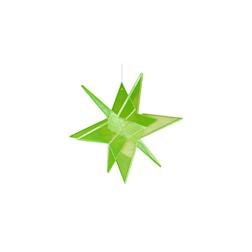 Stella 3D Cazador del Sol verde cm 20