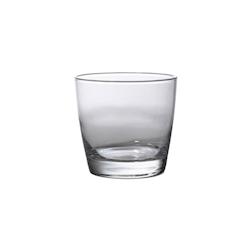 Bicchiere Seira rocks in vetro cl 26,5