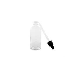 Bottiglia contagocce in vetro cl 5