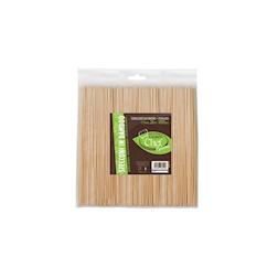 Stecconi monouso in bamboo biodegradabile cm 20