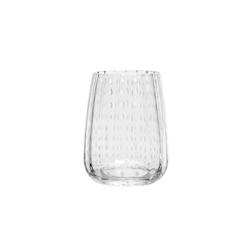 Bicchiere Perlage in vetro soffiato trasparente cl 36