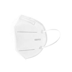 Mascherina facciale KN 95 FFP2 in tnt bianca