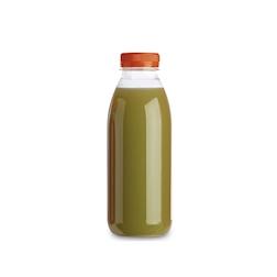 Bottiglia Servipack in pet trasparente con tappo arancione cl 50