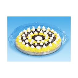 Scatola per torta Patipack in apet trasparente cm 26x26x5