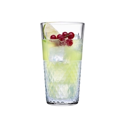 Bicchiere impilabile long drink Highness Pasabahce in vetro cl 49