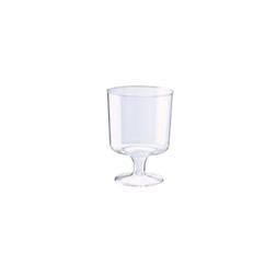 Bicchiere monouso Prestige in polistirene trasparente cl 17