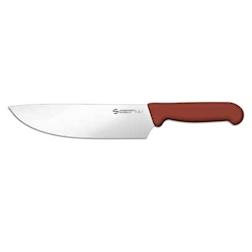 Coltello BBQ churrasco Sanelli Ambrogio in acciaio con manico in pp marrone cm 20