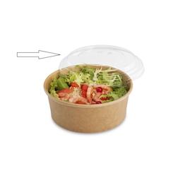 Coperchi Tusipack per contenitori Salad Rond in rpet trasparente cm 15,5