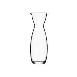 Caraffa Perfecta Luigi Bormioli in vetro lt 1