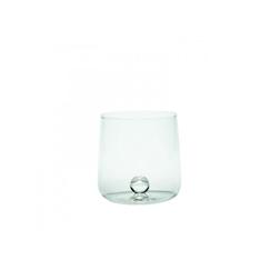 Bicchiere Bilia Zafferano in vetro fatto a mano con bilia trasparente cl 51