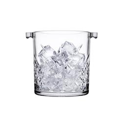 Secchiello ghiaccio Timeless Pasabahce in vetro con pinza in plastica lt 1
