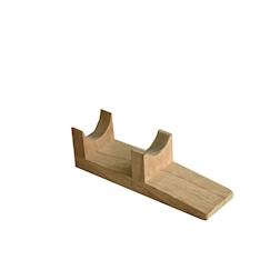 Supporto in legno per tronchetto