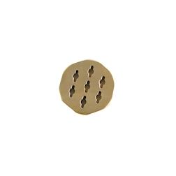 Trafila biscotti per tronchetto in ottone