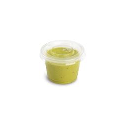 Coppetta salsa Delipack in pet trasparente cl 3