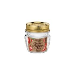 Mini barattolo 4 stagioni con coperchio Bormioli rocco in vetro cl 8