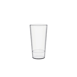 Bicchiere Urban S con tacca in san trasparente cl 40