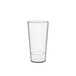 Bicchiere Urban M con tacca in san trasparente cl 50