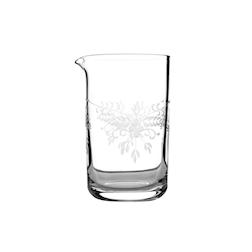 Mixing glass Fresca in vetro decorato cl 58
