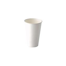 Bicchiere cappuccino in carta bianca cl 40