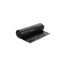 Sacco immondizia in polietilene nero cm 50x60