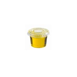 Coppetta salsa in pet trasparente cl 5