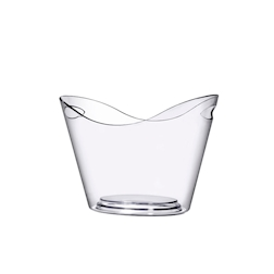 Spumantiera Visual in plastica trasparente lt 8