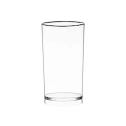 Secchiello Pure Magnum in acrilico trasparente lt 8