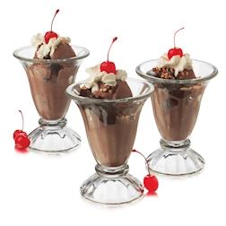Coppa dessert gelato Tulip Libbey in vetro cl 19,2