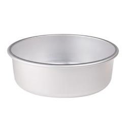 Tortiera conica Agnelli in alluminio con orlo cm 28