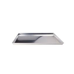 Teglia pizza rettangolare in alluminio cm 55