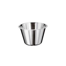 Bowl conica alta in acciaio inox lt 11