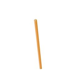 Cannuccia drinking straw plastica cm 21 arancio