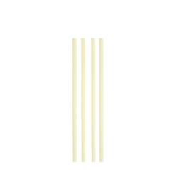 Cannuccia drinking straw plastica cm 13,5 avorio