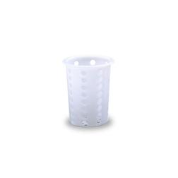 Porta posate forato per lavastoviglie in plastica cm 13,7x9,7