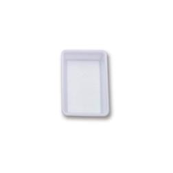 Vaschetta rettangolare Araven in policarbonato bianco lt 3