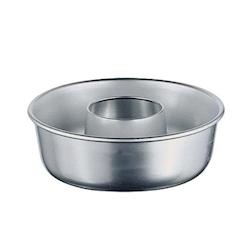 Tortiera per ciambella Paderno in alluminio cm 14