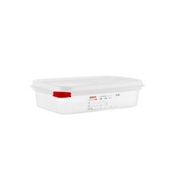 Gastronorm 1/4 Araven con coperchio in polipropilene lt 1,8