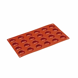 Stampo Flexipad semisfere 24 impronte in silicone