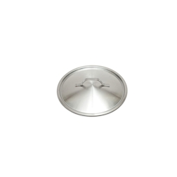 Coperchio piatto leggero in acciaio inox cm 16
