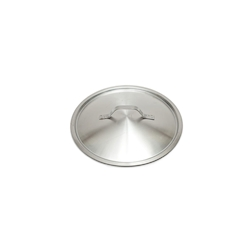 Coperchio piatto leggero in acciaio inox cm 20