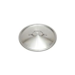 Coperchio piatto leggero in acciaio inox cm 24