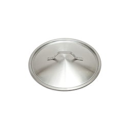 Coperchio piatto leggero in acciaio inox cm 28