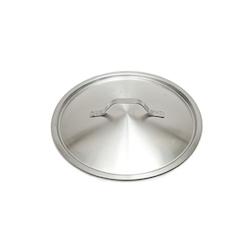 Coperchio piatto leggero in acciaio inox cm 32