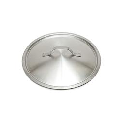 Coperchio piatto leggero in acciaio inox cm 36