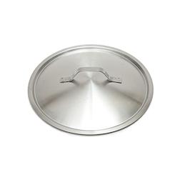 Coperchio piatto leggero in acciaio inox cm 40