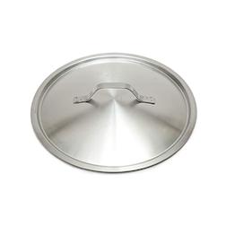Coperchio piatto leggero in acciaio inox cm 45
